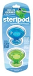 Steripod™ Toothbrush Sterilizer, Blue and Green