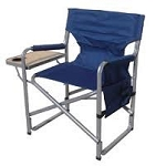 Navy Blue RV Director's Chair