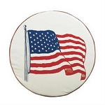 American Flag Spare Tire Cover, Size J