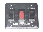Dual Water Heater Power Switch Black SW6DEL/SW10DEL