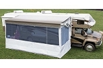 Carefree 711920WPF 19' Complete Flat Pitch Add-A-Room Awning Screen Motor Home