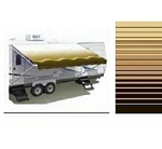Carefree Awning Replacement Fabric Sierra Brown 17'