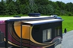 Carefree RV Slideout Cover SOK III with Deflector Roof 182