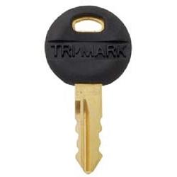 Trimark White Travel Trailer Rv Key Lock