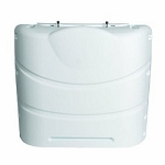 RV Propane Tank Cover 30 lb. Colonial White