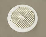 Aireport AC Vent, Louvered, White