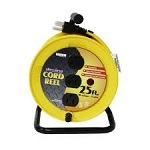 Outlet Cord 25' Reel 10A/120V 3