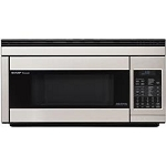 SHARP 1.1 CU FT CONVECTION MICROWAVE HOOD-STAINLESS STEEL