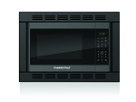 Black 1 Cubic Ft. Convection Microwave w/ Trim