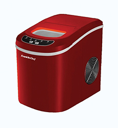 Dometic Countertop Ice Maker : ... and Dometic > Camper Ice Boxes > Franklin Chef Red Portable Icemaker