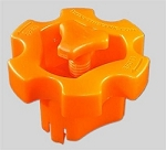 Stellar Innovative Orange Valve Grip