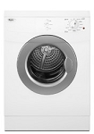 Whirlpool WED7500VW Compact Stackable Electric Front-Load Dryer with 11 cycles