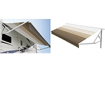 Dometic A&E 15' 9100 Power Awning w/Metal Weathersheild and Acrylic Fabric