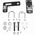 Steering Stabilizer Bracket Kit for Ford Class C Motorhomes