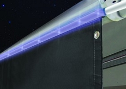 Awning Drape with Solar Rope Lights A300750