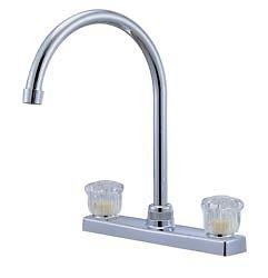 rv kitchen faucet 8 quot hi arch white