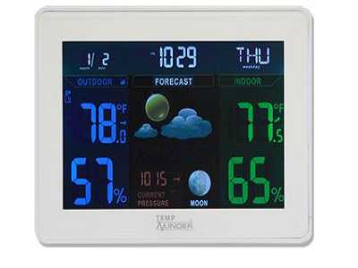 Camper Thermometers and Weather Stations