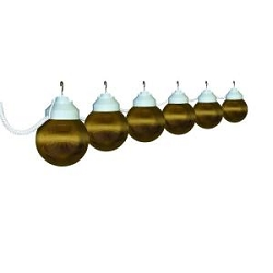 RV Awning Globe Lights, Bronze 6 pack