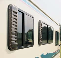 Rv Louvered Window Vent