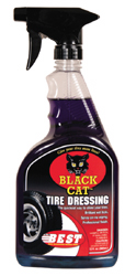 Black Cat Tire Dressing 32 oz.