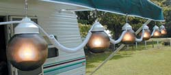 rv awning globe lights bronze 6 pack