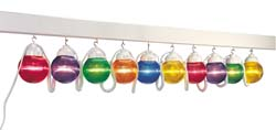 RV Globe Light Multi-Color 10 Pack