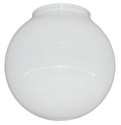 Replacement Globe-White Prismatic