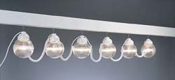 RV Globe Lights, Clear 6 pack