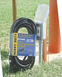 Rv 15 Amp Extension Cord - 30'