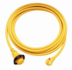 Rv 30 AMP - 25' RV Power Cord - W/Twist Lock & Indicator Light