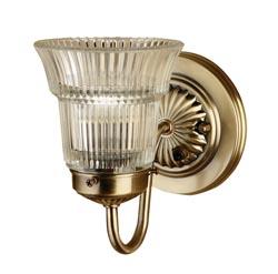 Antique brass light shade