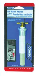 RV Anode Rod with Drain