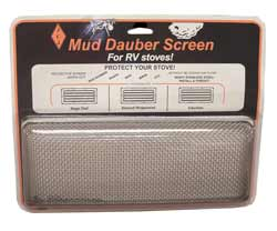 Mud Dauber Stove Screen