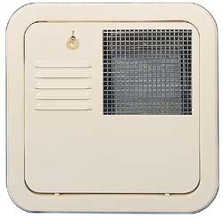 6 Gallon Flush Mount White Sububan Rv Water Heater Door