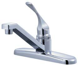 rv kitchen faucet 8 quot single lever chrome finish