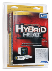 RV Camco Hybrid Heat Water Heater - 6 Gallon