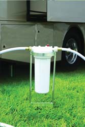 Exterior Canister Water Filter Stand