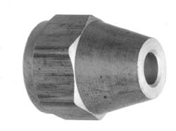 Short Forged Reducing Nuts, 3/8