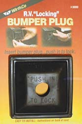 Locking Bumper Plug