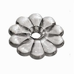 Rosette Washers Clear