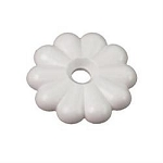 Rosette Washers White
