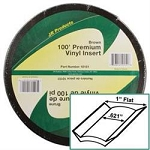 1 inch X 100 ft Vinyl Insert Brown