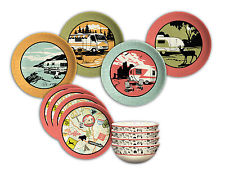 Melamine Dish Set 12 Piece