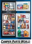 Rv Refrigerator,Gas Absorption 2-Way