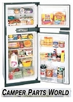 Rv Refrigerator,Norcold 6.3 Cubic Ft N600 Gas Absorption  3-Way