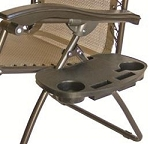 Table, 14 Inch x 9 Inch x 1-1/2 Inch, Fits To Recliners And A Type Frames, Clip-On