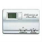 Coleman Mach White Case 24 Volt Wall Thermostat