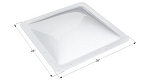 Icon- Skylight 22 Inch Length x 22 Inch Width Opening