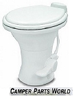 Dometic 310 RV Toilet  White With Hand Spray