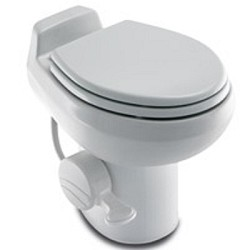 Dometic RV Toilet -Sealand Traveler 510HS- White With Hand Spray ...